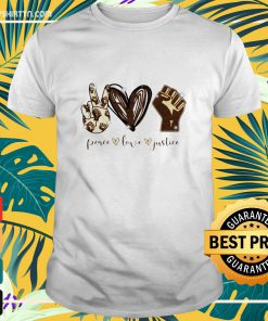 Peace love justice diamond shirt
