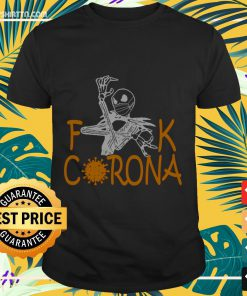 Jack skellington mask fuck corona shirt