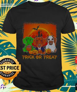 Halloween Dachshund trick or treat Shirt