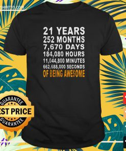 21st Birthday Gifts t-shirt