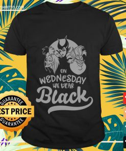 Villains Disney on Wednesday we wear black Shirt
