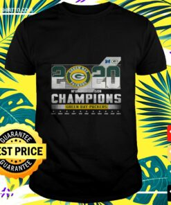 2020 NFC North division champions Green Bay Packers t-shirt