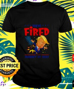 Men's Trump you're fired 46th president inauguration day 2021 t-shirt