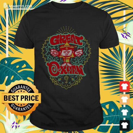 New Japan Pro Wrestling Great-O-Khan Shirt