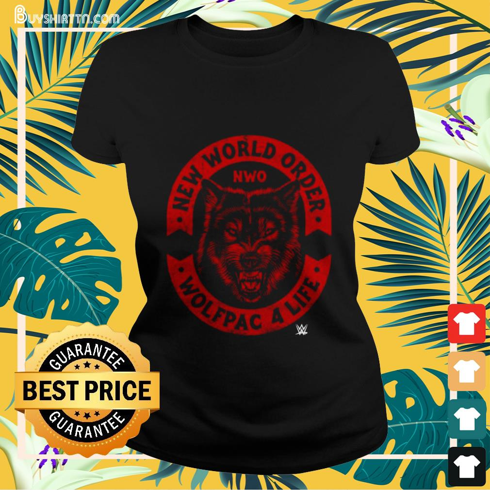 New world order wolfpac 4 life Ladies-tee