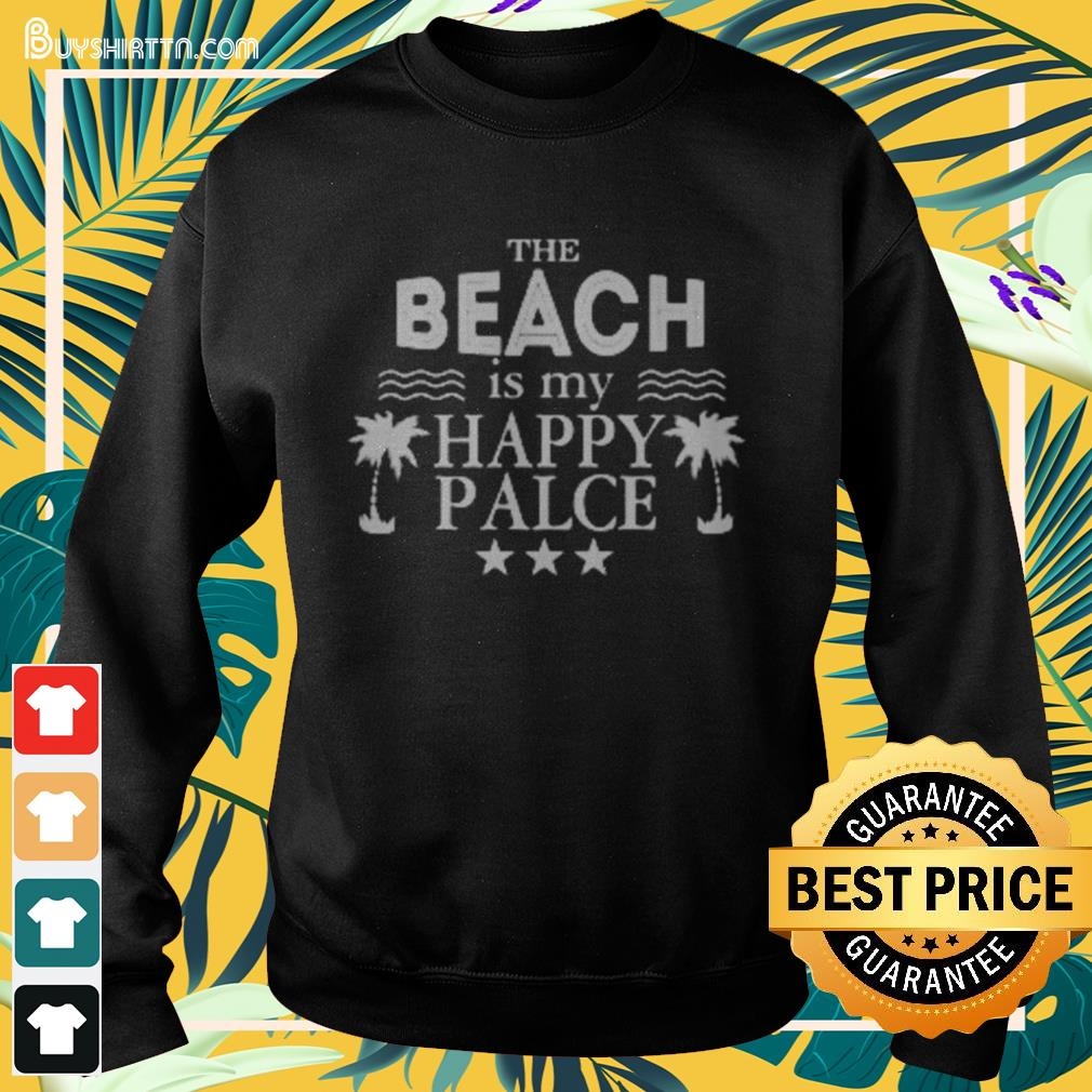The beach is my happy place Sweater