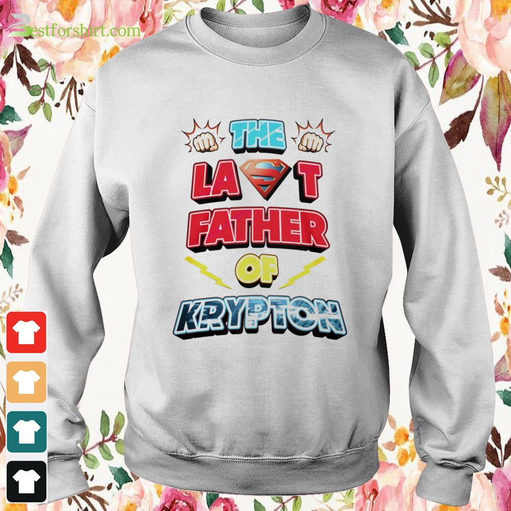 The last father of Krypton Sweater