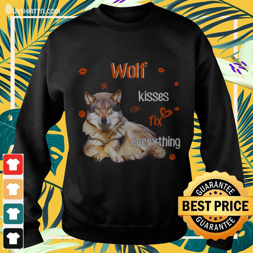 Wolf Kisses fix everything Sweater